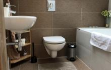 koupelna v horním patře